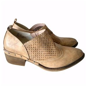Boutique by Corkys Kia tan Ankle Boots